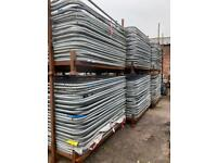 Temporary Heras Site Security Fencing - Panels - Used