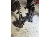 2012 Ford Fiesta front axel complete