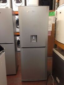 BEKO FRIDGE FREEZER 70CM 50/50 WATER DISPENSER SILVER RECONIDITONED