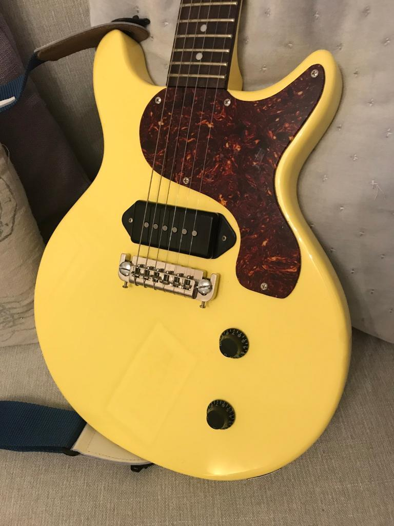 aiersi double cut les paul junior usa p90 in newcastle tyne and wear gumtree. Black Bedroom Furniture Sets. Home Design Ideas
