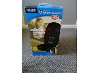 HoMedics vibration comfort back massage seat cushion - raising funds for Rhyl lifeboat