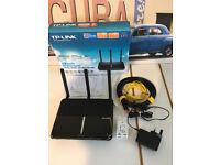 TP-LINK AC1600 VDSL/ADSL ARCHER VR600 Modem Router
