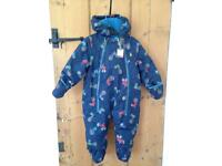 """Brand new """"joules"""" boys tractor snowsuit"""