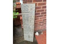 Gravel board - 305mm - concrete rock face style