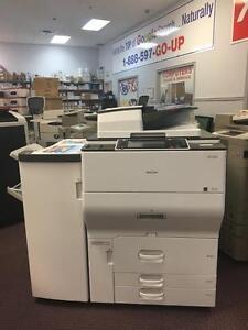 REPOSSESSED Ricoh Copier MP C6502 6502 Color Laser Light Production Printer Copiers Photocopier Copy Machine Printers
