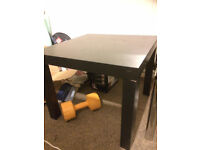 Black low table in great condition