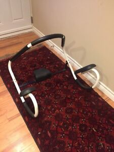 HOME BIKE AND AB WORKOUT EACH $70