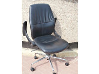 SOHO leather chairs x 5 available (Delivery possible)