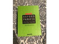 Oxford Paravia Italian bilingual Dictionary