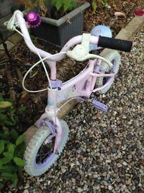 Girls Bike Disney Princesses