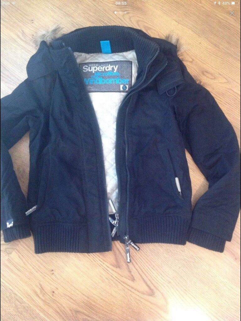 Ladies Superdry Jacket Size Small