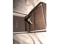 1 ctw Round Diamond Engagement Ring 18k White Gold