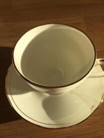 English bone china cup and saucer