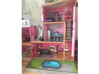 Kidcraft uptown dolls house