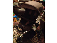 Quinny Buzz stroller and accessories (travel system)
