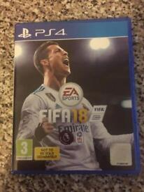 FIFA18 for PS4 with ultimate team digital content code