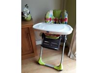 Chicco polly high chair for sale