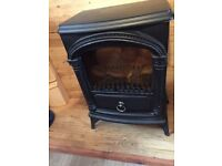 Resin Fire Surround with Electric Fire-Excellent Condition