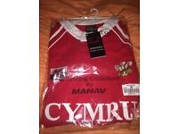 Haka Welsh Rugby Shirt BNIB