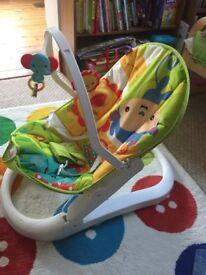 Fischer Price Rainforest Baby bouncer