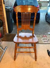 Gingerbread chair