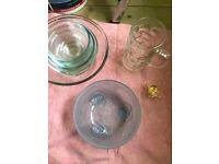 Some glass kitchen stuff