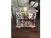 Kids Comic Chest of Drawers