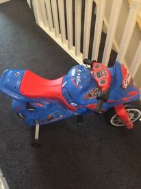 Spider-Man motorised bike