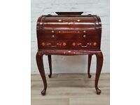 Inlaid Roll Top Writing Bureau (DELIVERY AVAILABLE FOR THIS ITEM OF FURNITURE)