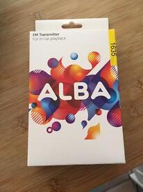 Brand new Alba FM transmitter