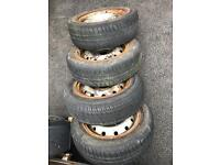 Berlingo alloys and good tyres