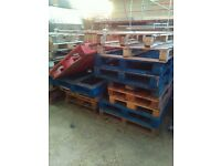 Pallets, various sizes
