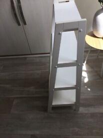 White Ladder Shelves