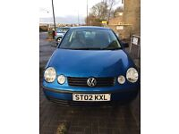 Volkswagen Polo 2002 - Spares & Repairs