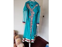 Green wedding dress /dress / Asian dress / Party dress / Eid dress