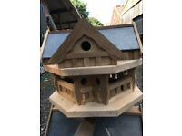 Teak Wooden bird house
