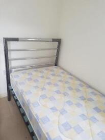 New ex display single bed with mattress