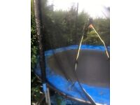 Trampoline 10ft with safety net and ladders