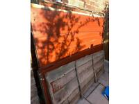 Fence panels and pallets