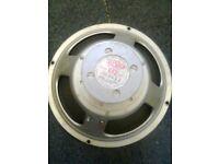 "Vintage T0652 Celestion G12 alnico 12"" speaker driver Marshall/ Vox 1960s"