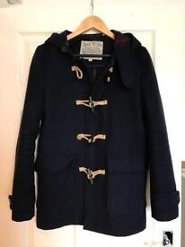 Jack Wills Navy Felt Coat