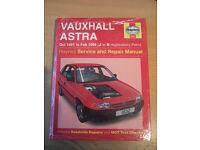Vauxhall Astra Haynes Service and Repair Manual