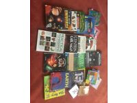 Books £10 for lot
