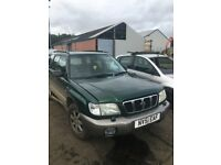 SUBARU FORESTER BREAKING FOR SPARES