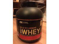 NEW Optimum Nutrition Gold Standard Whey Protein Powder, 5lb 2.27kg