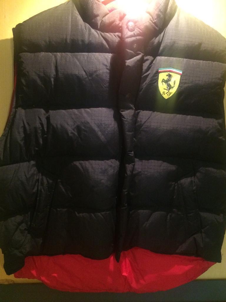 Mans Ferrari jacket