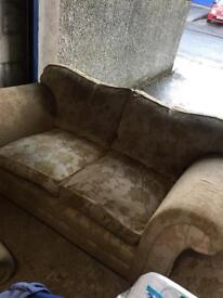 2 x 2 seaters sofas or will go separate