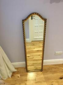 Gold Vintage style mirror