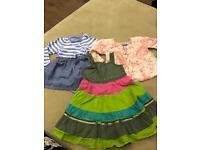 3 x dresses for 6-9m baby girl
