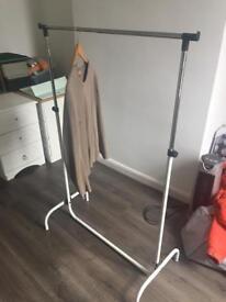 Portable adjustable clothes Rail